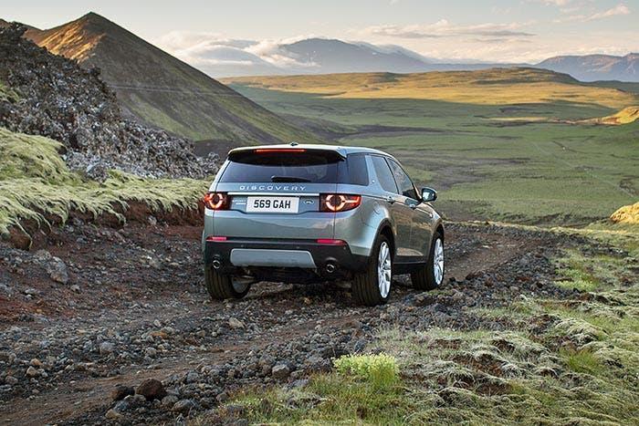 Conducción off-road en el Land Rover Discovery Sport
