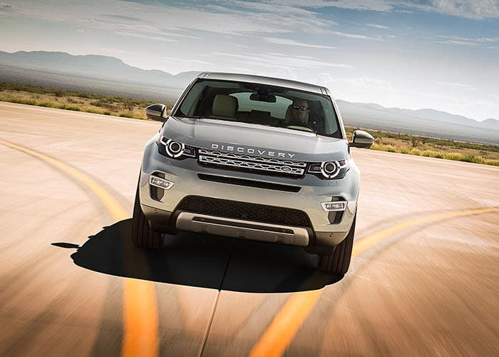 Frontal del Land Rover Discovery Sport