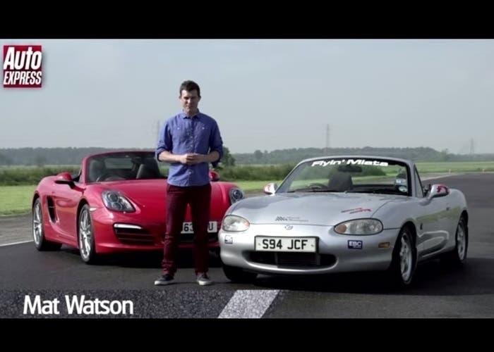 Mazda contra Porsche