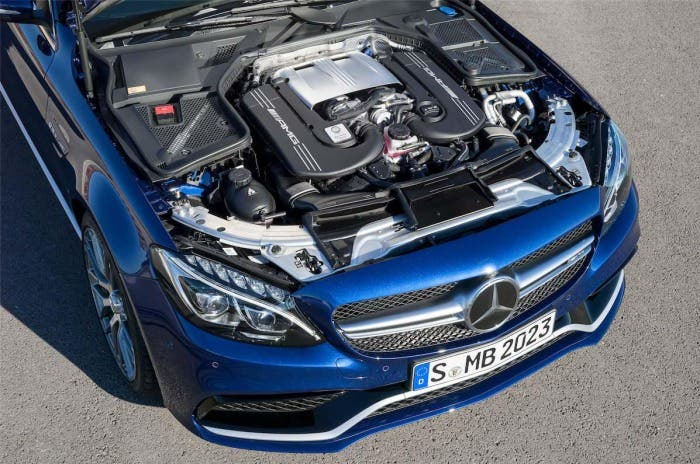 Motor del Mercedes-AMG C63