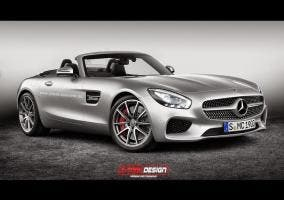 Render Mercedes AMG GT Cabrio