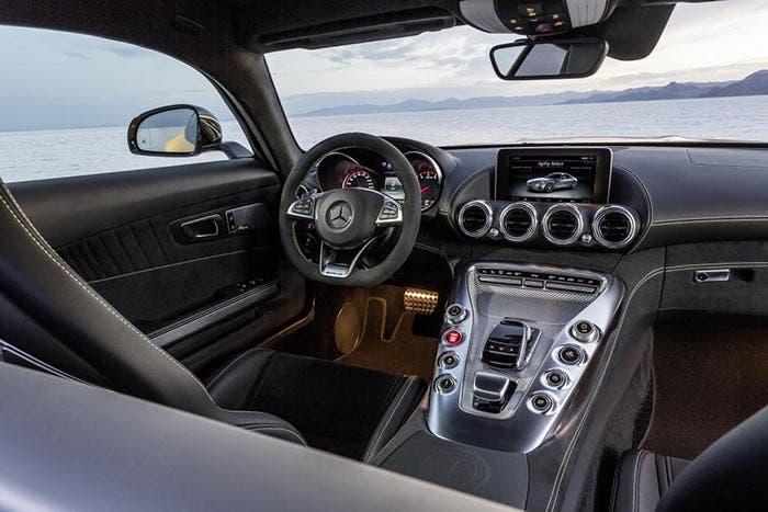 Interior del Mercedes AMG GT