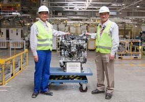 Toyota fabrica su motor 1 millón en la planta de Polonia