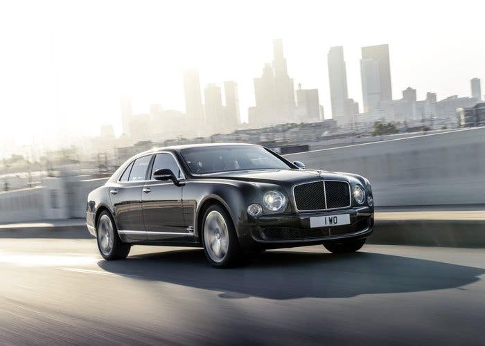 Parte delantera del Bentley Mulsanne Speed