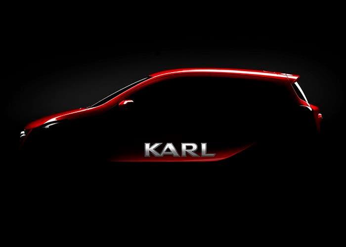 Teaser del Opel Karl