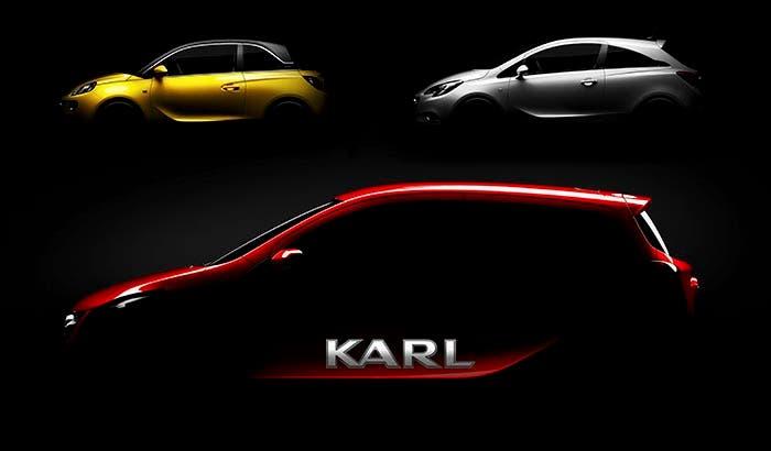 Opel Karl vs Opel Adam vs Opel Corsa