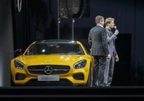 Presentacion Mercedes AMG GT