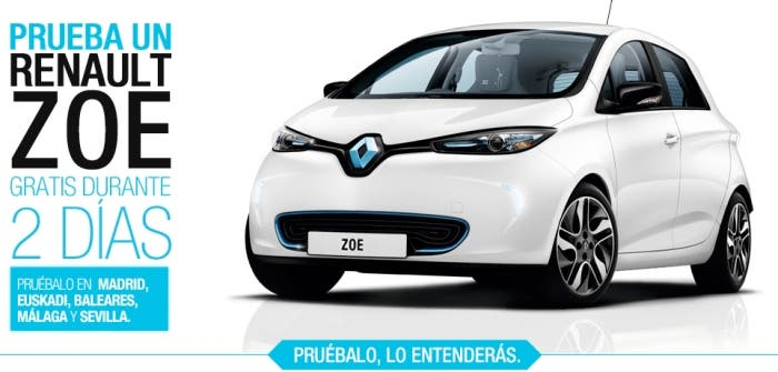 La nueva promoción de alquiler del Renault ZOE