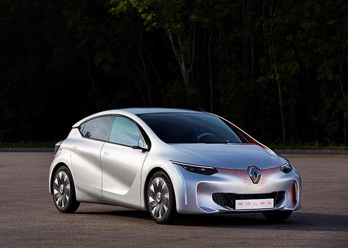 Frontal del Renault EOLAB