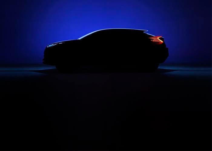 Teaser del Toyota C-HR