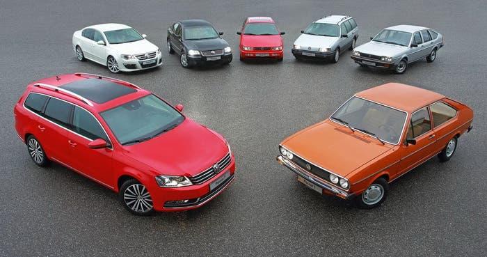 Generaciones del Volkswagen Passat