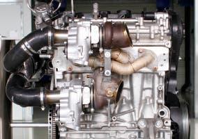Nuevo prototipo de motor de Volvo llamado High Performance Drive-E powertrain concept