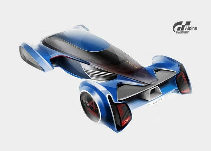 Adelanto del Alpine GT Vision