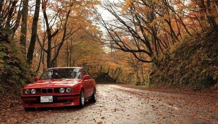 Carretera en otoño