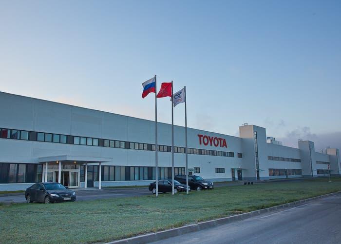 Factoría de Toyota en Rusia