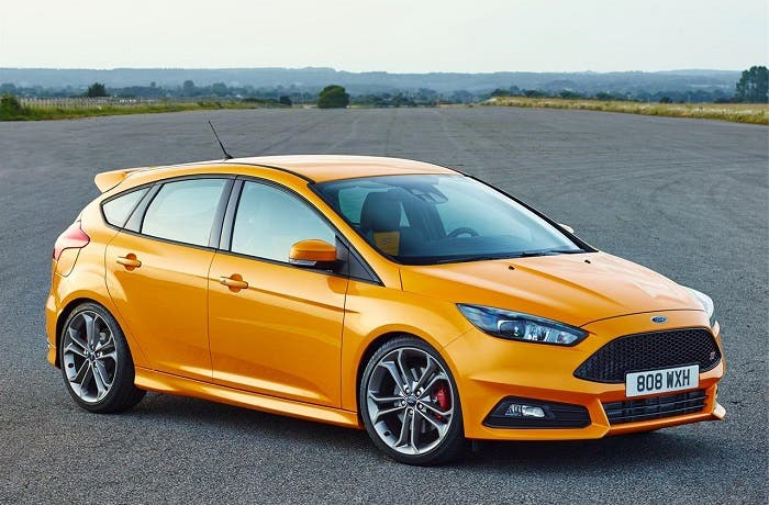 Frontal del Ford Focus ST