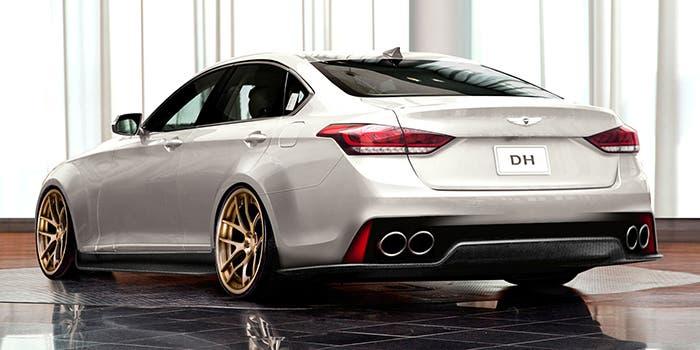 Hyundai Genesis ARK Performance