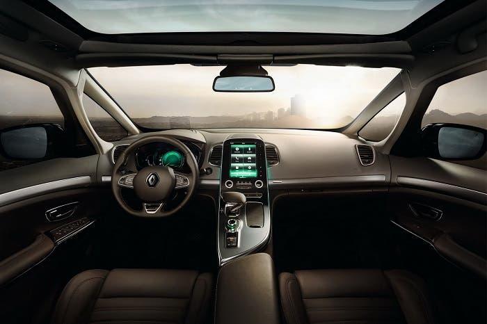 Interior del Renault Espace