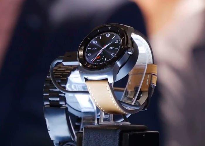 Imagen del nuevo smartwatch de Lg