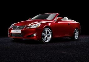 Versión cabrio del Lexus IS