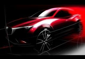 Teaser del Mazda CX-3