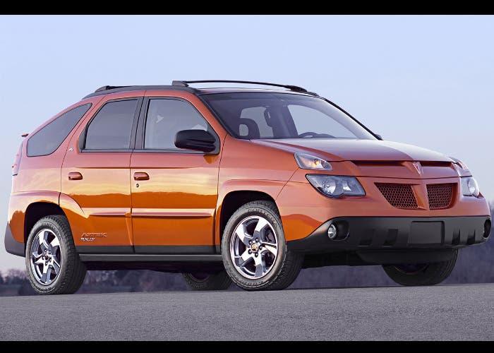 Vista frontal del Pontiac Aztek Rally de 2004
