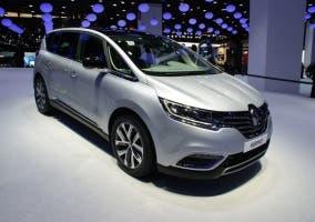 Frontal del Renault Espace