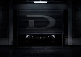 Teaser del Tesla Model D