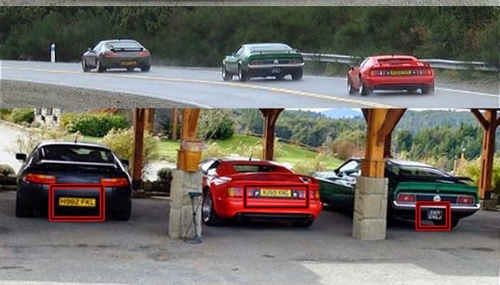 Top Gear matrículas