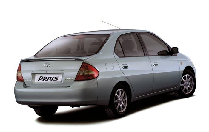 Vista trasera del Toyota Prius
