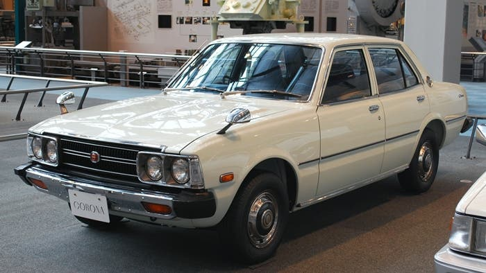Vista frontal del Toyota Corona