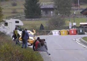 Brutal accidente en un rally