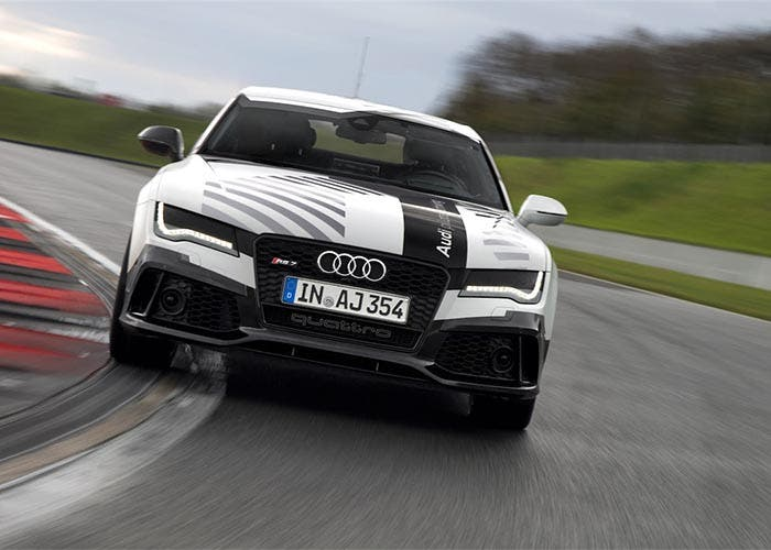 Audi RS 7 piloted driving concept en circuito