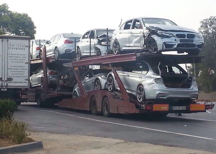 Varios BMW M3 rotos
