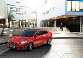 Frontal del Ford Mondeo