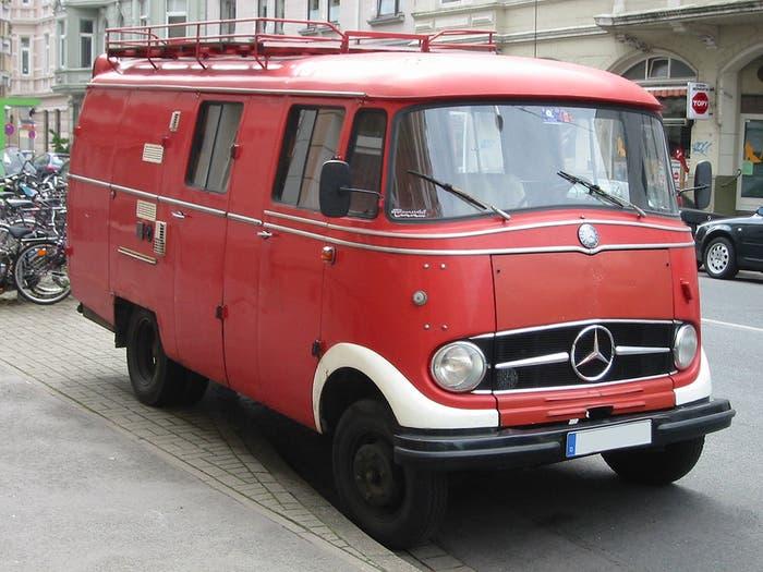 Furgoneta de Mercedes