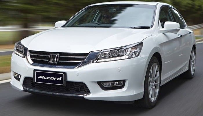 Frontal del Honda Accord