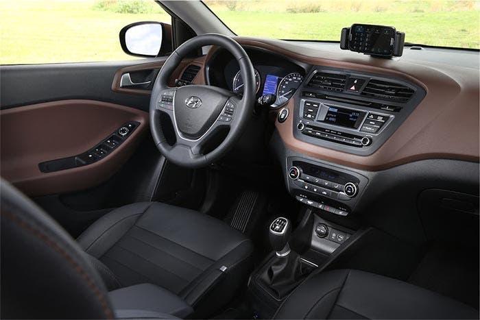 Interior del Hyundai i20