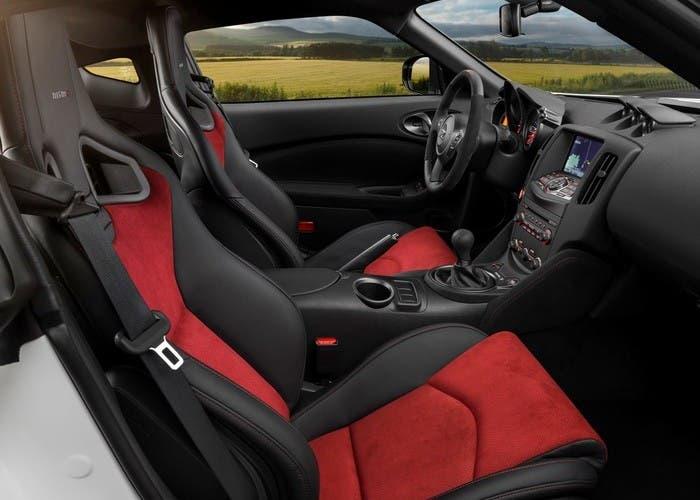 Asientos del Nissan 370Z NISMO