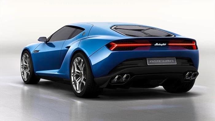 Trasera del Lamborghini Asterion