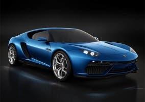 Frontal del Lamborghini Asterion
