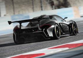 McLaren P1 GTR de test en Bahrein