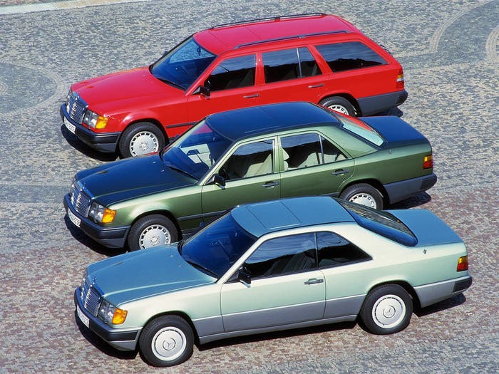 Mercedes W124 versiones