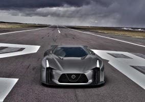 Frontal del Nissan GT-R Vision 2020
