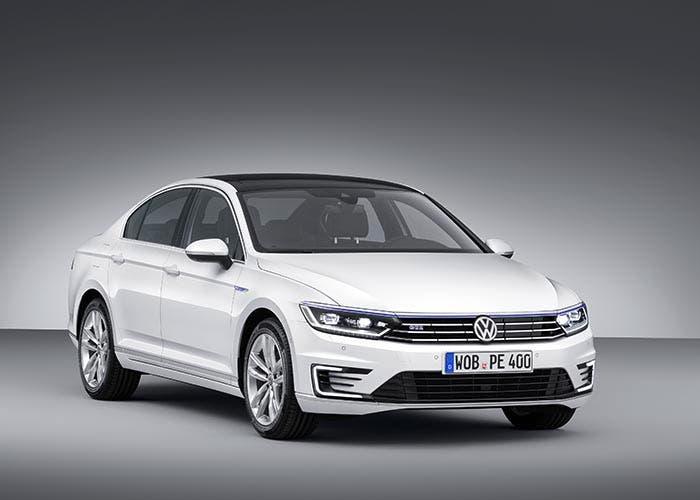 Frontal del Volkswagen Passat GTE