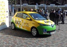 Vista frontal del Renault ZOE del RACC