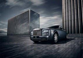 Frontal del Rolls-Royce Phantom Metropolitan Collection