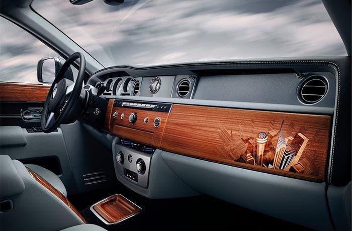 Interior del Rolls-Royce Phantom Metropolitan Collection