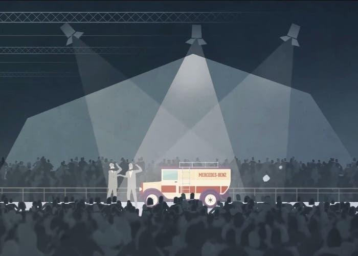 Video comerciales Mercedes