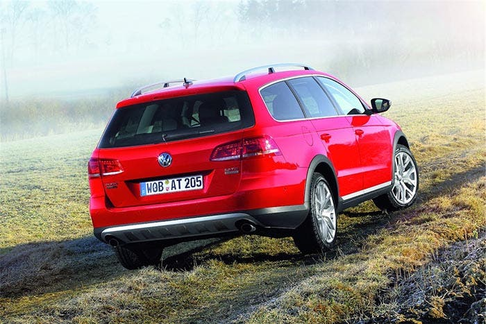 Trasera del Volkswagen Passat Alltrack
